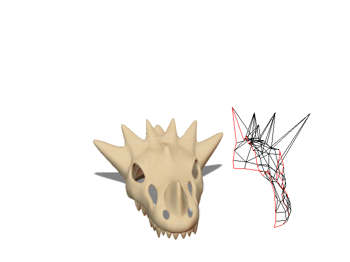Dragon Skull - 3D design by bugarinfabian187 May 14, 2018