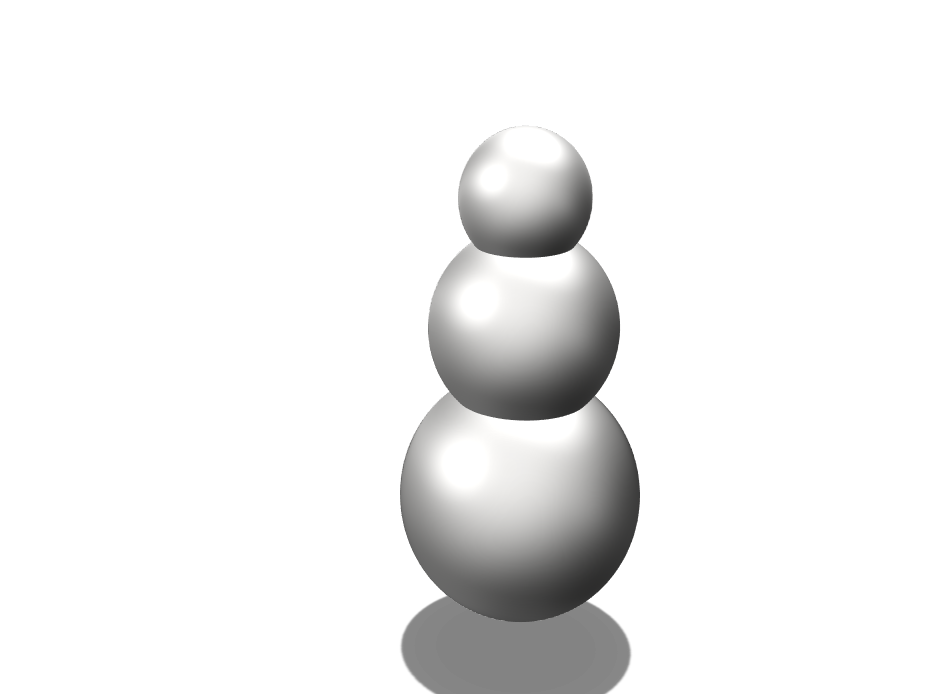 Snowman Crap - 3D design by mikemcguinnessii on Apr 24, 2018