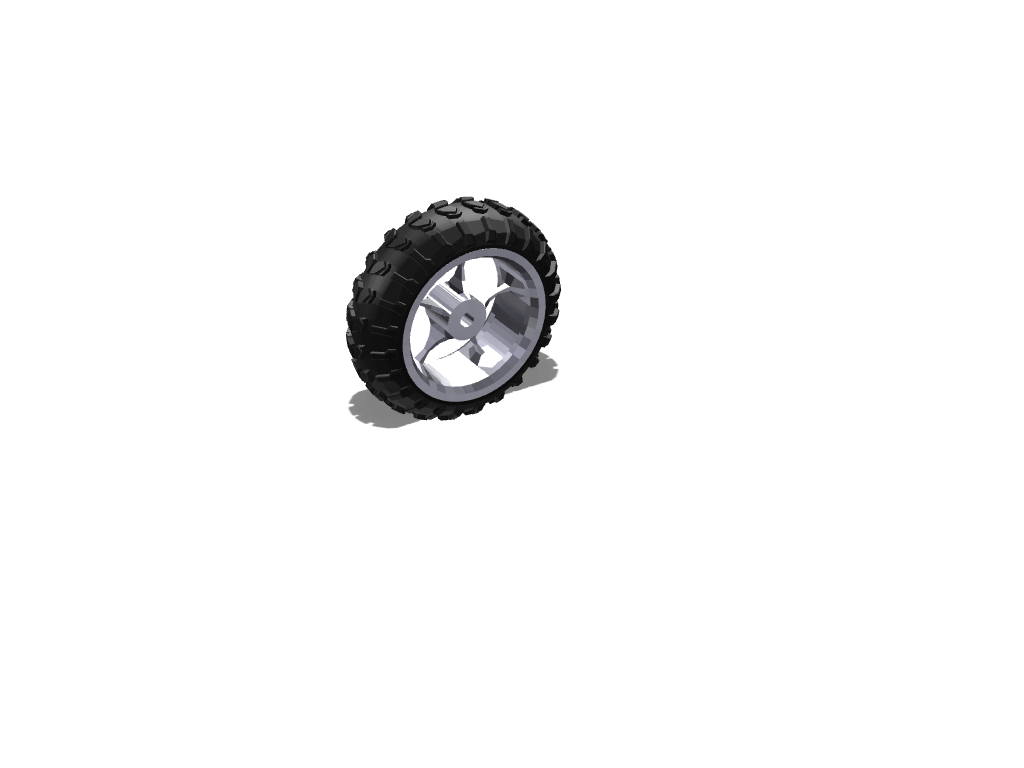 motor bike wheel - 3D design by arlomorleyhall on Jun 28, 2017