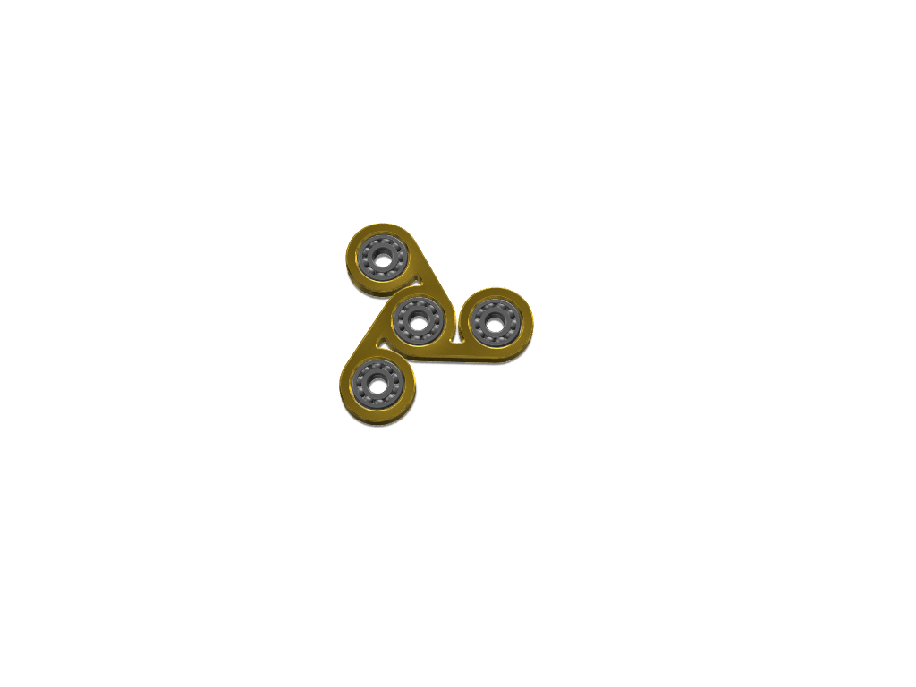 Camerons fidget spinner - 3D design by Cameron Kyle Feb 6, 2018