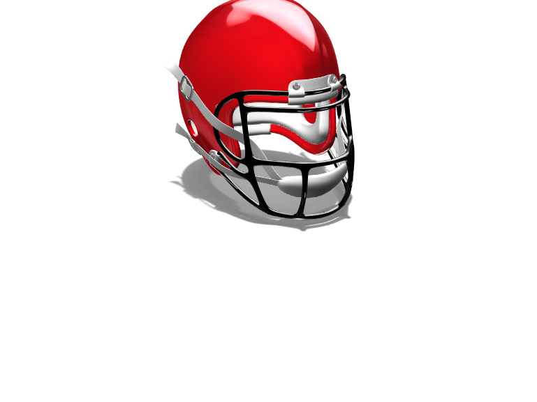 NFL Helmet - 3D design by LoganE0777 on Mar 10, 2018