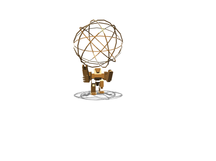 robot globe - 3D design by shanePlayzFORTNITE Mar 20, 2018