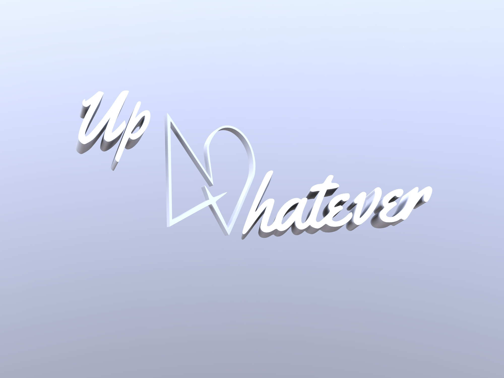 Up4Whatever - 3D design by up4whateveraz on Dec 11, 2018