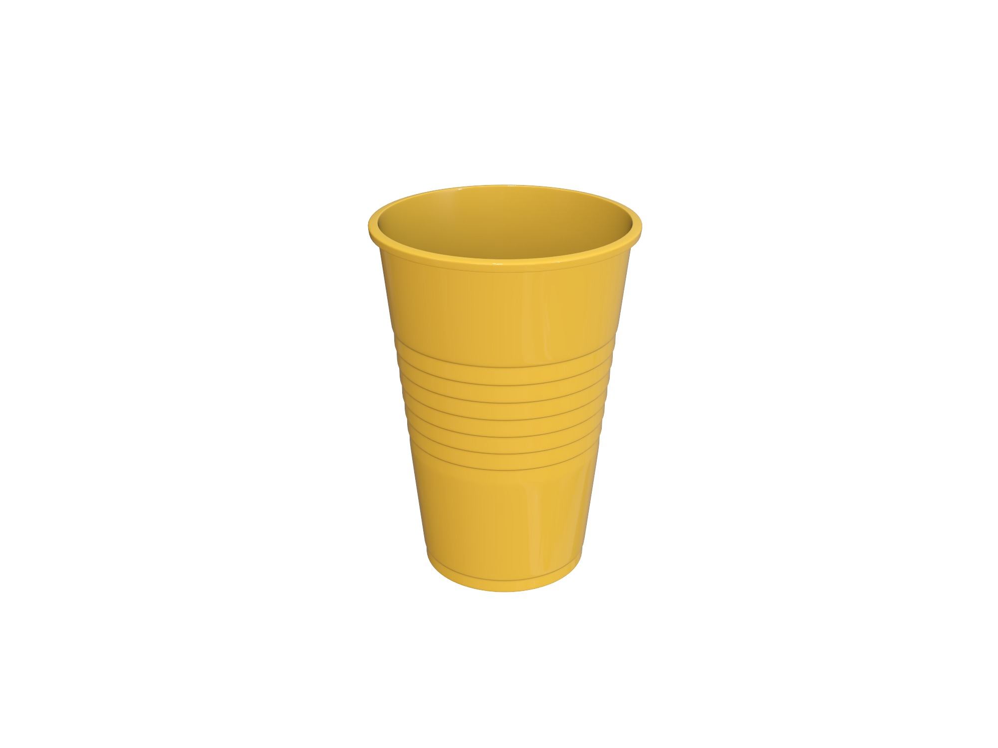 Plastic cup - 3D design by Vectary assets Jun 3, 2018