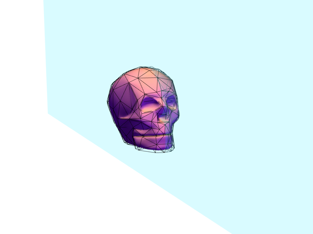 skull test - 3D design by Andy Klement May 9, 2017