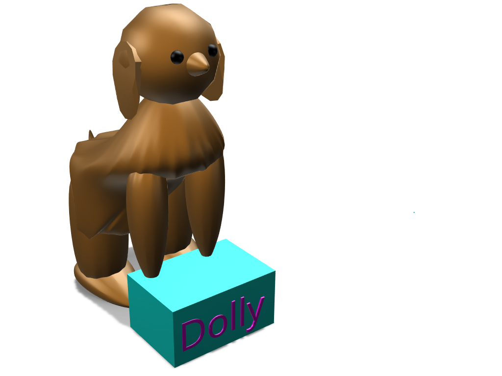 DOG Dolly 2.0 - 3D design by Mary Nay Mar 21, 2018
