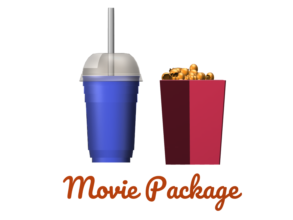 Movie Package - 3D design by Le Manh Cuong Mar 8, 2018