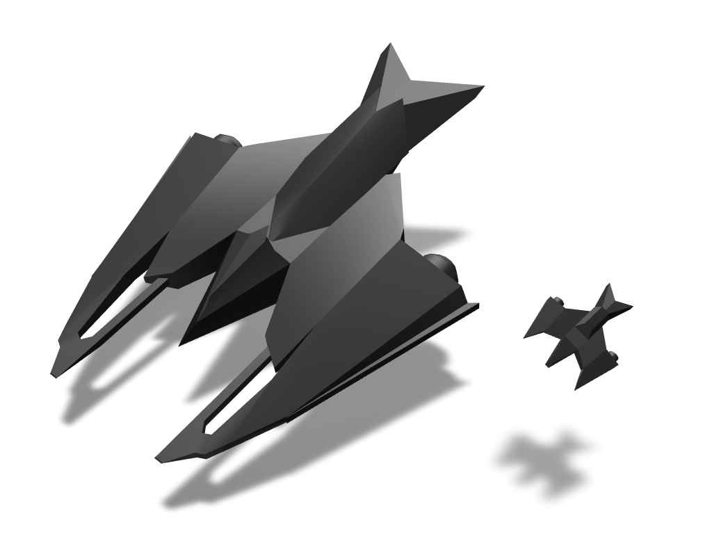 Spaceship 3.0 - 3D design by 562760 Jan 2, 2018