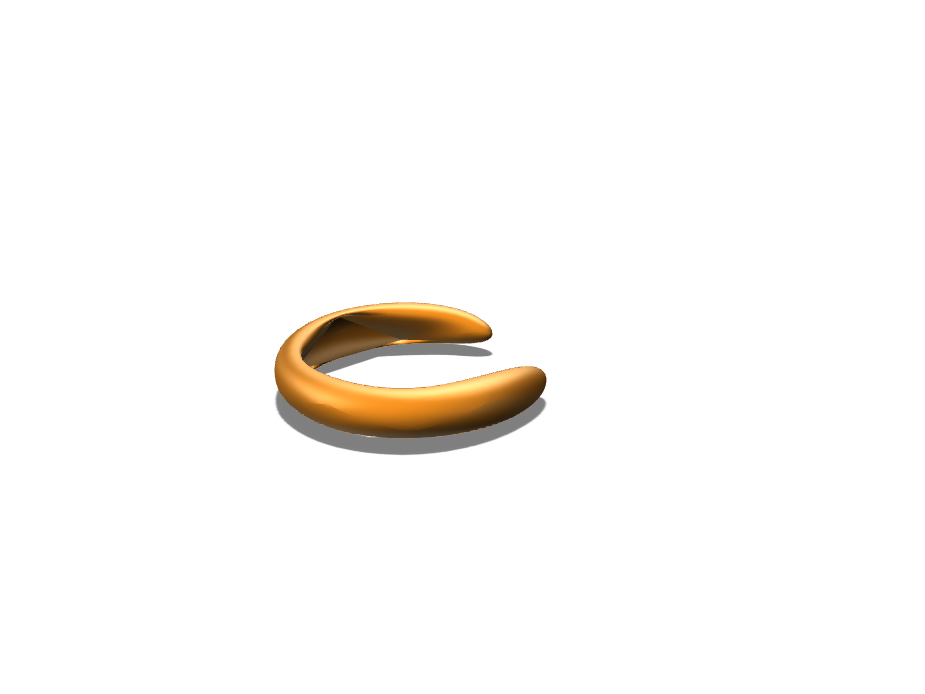 Multi Finger Ring - 3D design by HARSH SHETH on Sep 4, 2017
