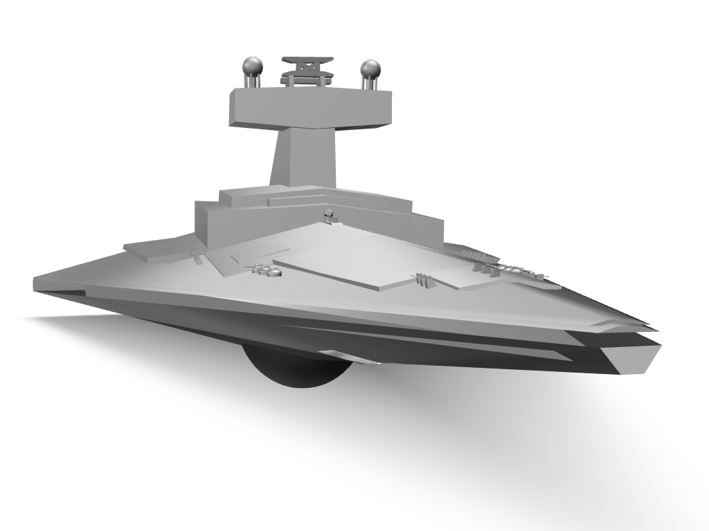 Imperial I class star destroyer - 3D design by sebastiandollybbb Nov 18, 2017