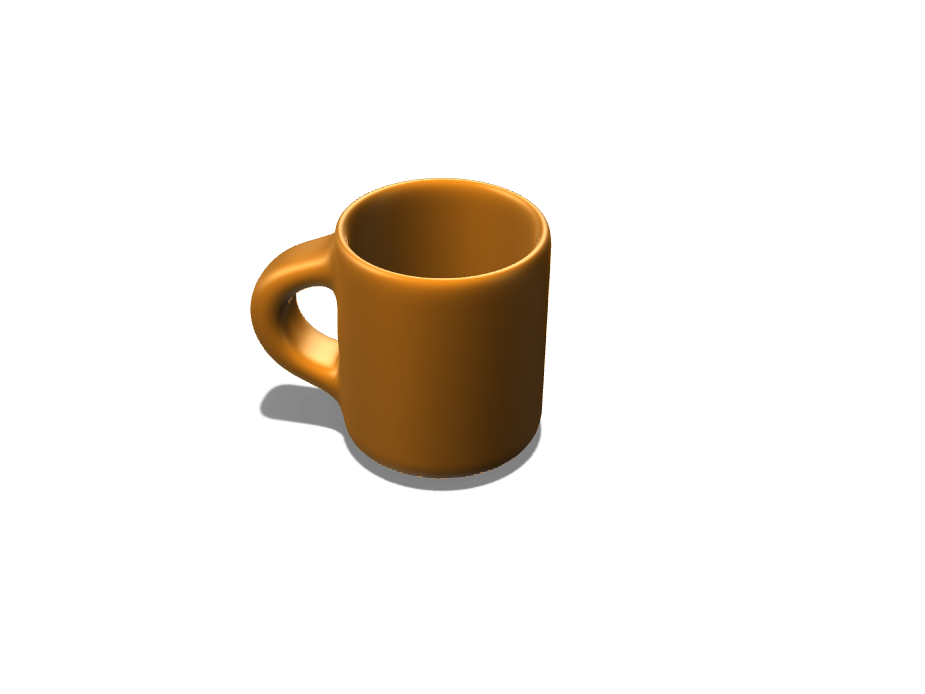 Mug - 3D design by HARSH SHETH on Sep 4, 2017