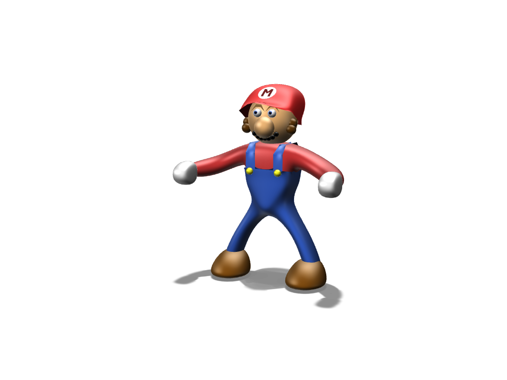 Mario (somewhat) - 3D design by Geek Gaming Jun 17, 2017