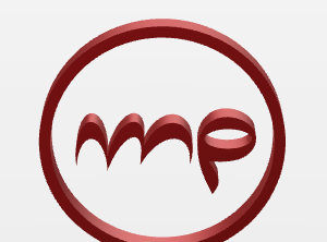 logo_mp - 3D design by pedroporto Apr 10, 2018
