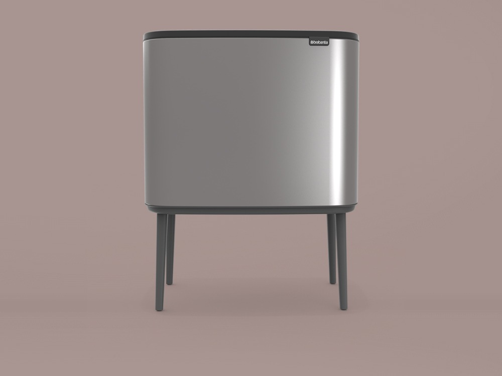 Bo Touch Bin - Platinum - 3D design by danny on Oct 7, 2018