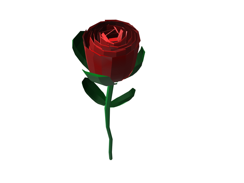 ROSE - 3D design by Selver Učanbarlić on Mar 8, 2018