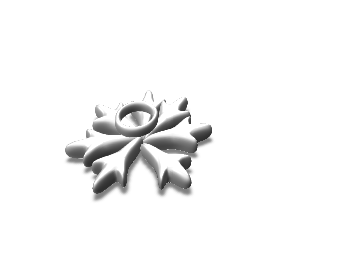 snowflake Vectary christmas - 3D design by heathso Dec 22, 2017