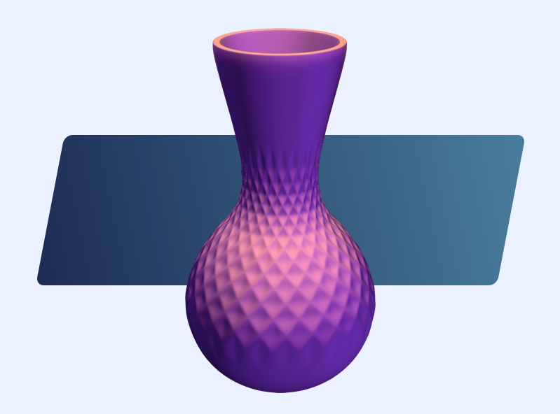 Vase template | MyMiniFactory Design Competition - 3D design by VECTARY Aug 4, 2017
