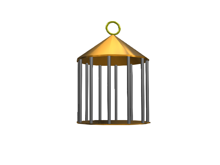 bird cage - 3D design by robercal000 Jan 22, 2018