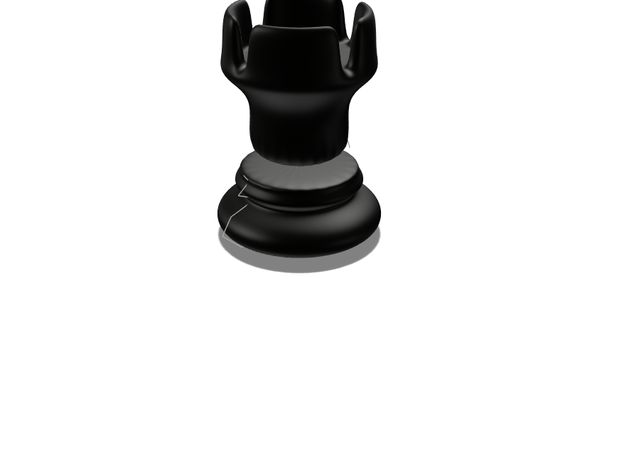 Chess Piece - 3D design by andersonav57 on Feb 9, 2018