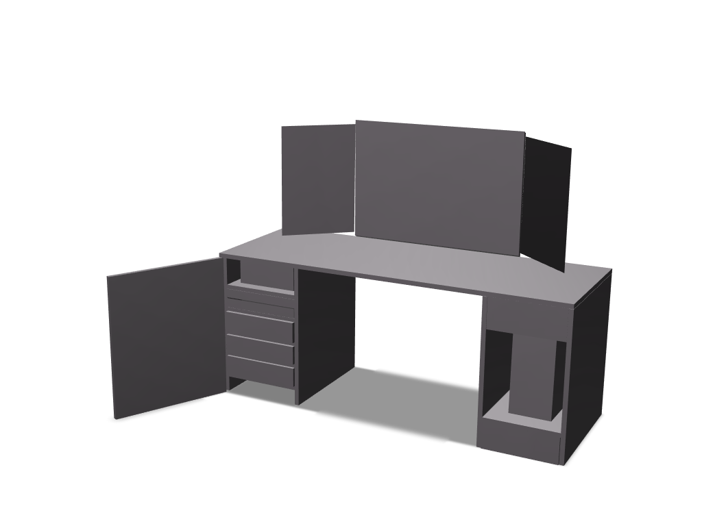 desk - 3D design by mynameisasa3 Mar 14, 2018