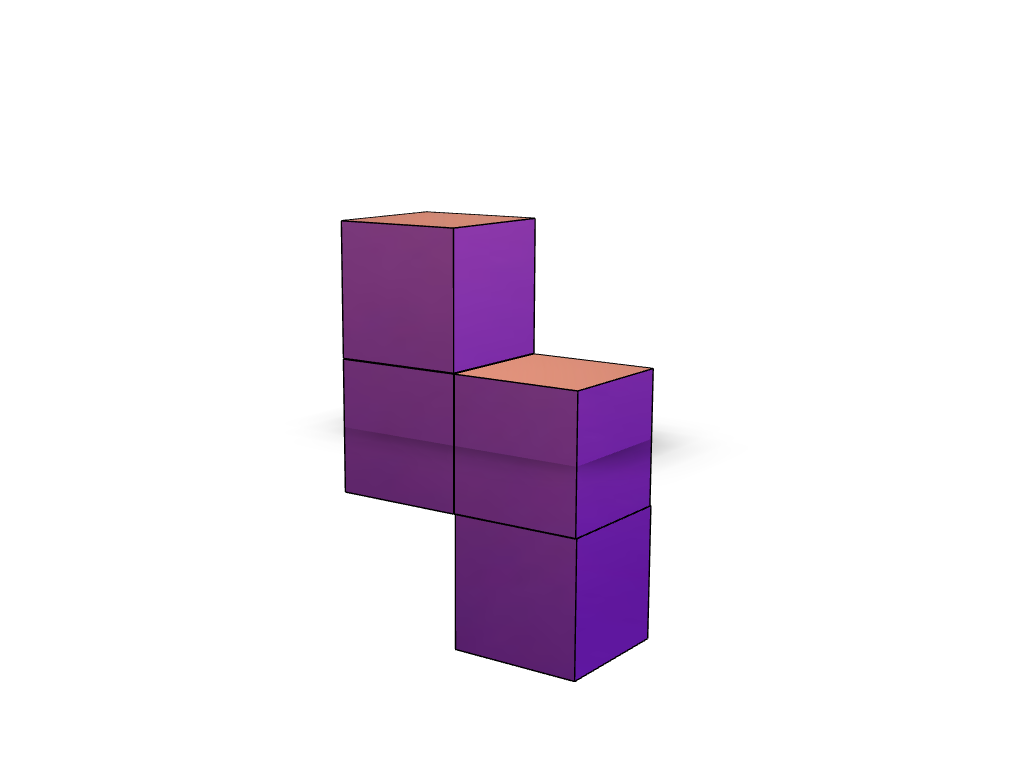 3D Tetris Piece 4 - 3D design by Filipe Simões Dec 11, 2017