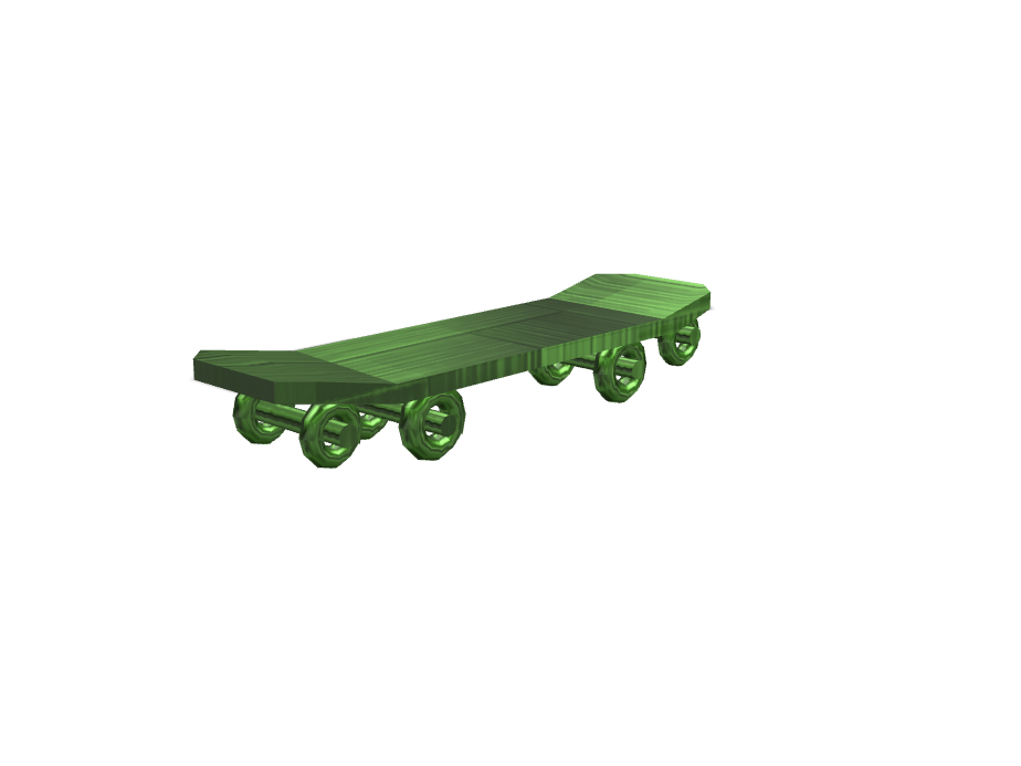 Skateboard 2.0.0 - 3D design by BAO on Nov 10, 2017