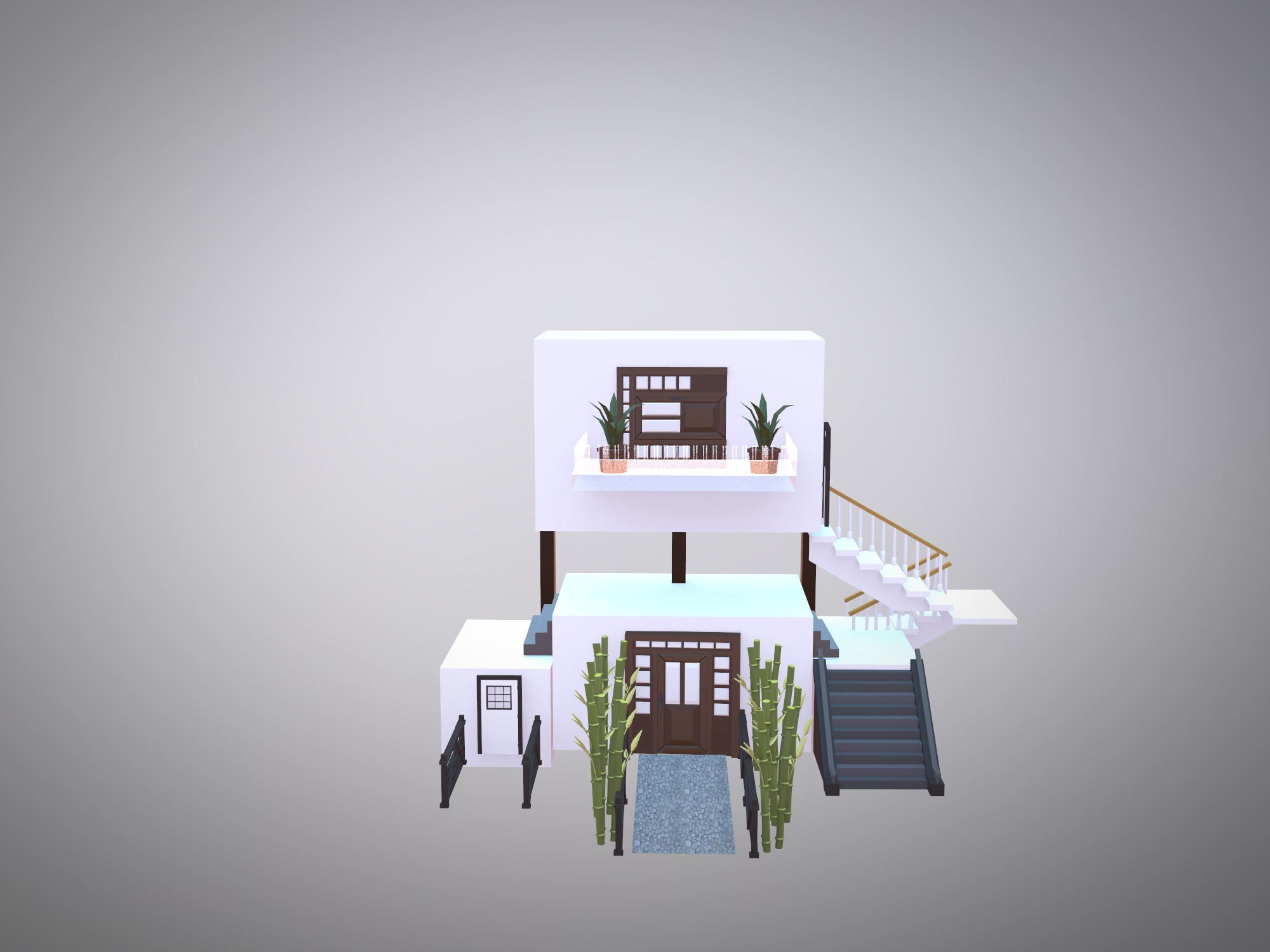 DREAM HOUSE? - 3D design by Melody on Feb 22, 2019