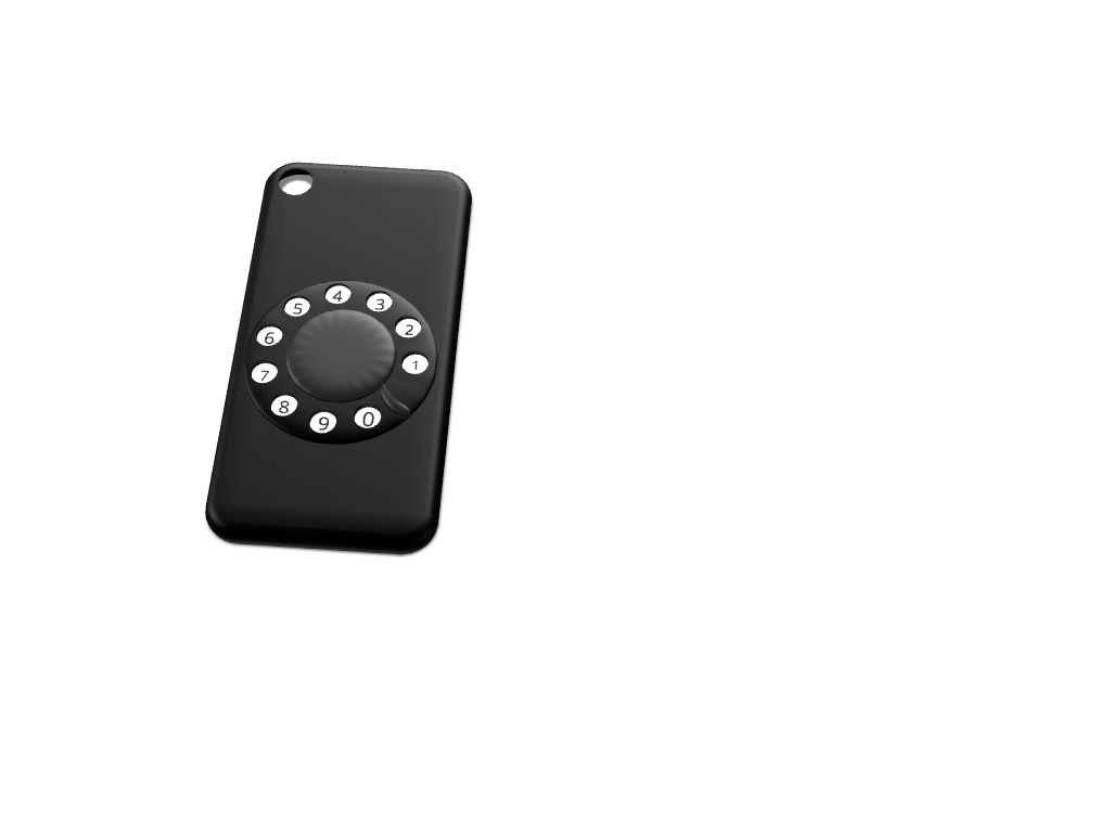 Spinning Rotary iPhone 7 cover (Updated) - 3D design by aryan.ssoudhary Nov 4, 2017