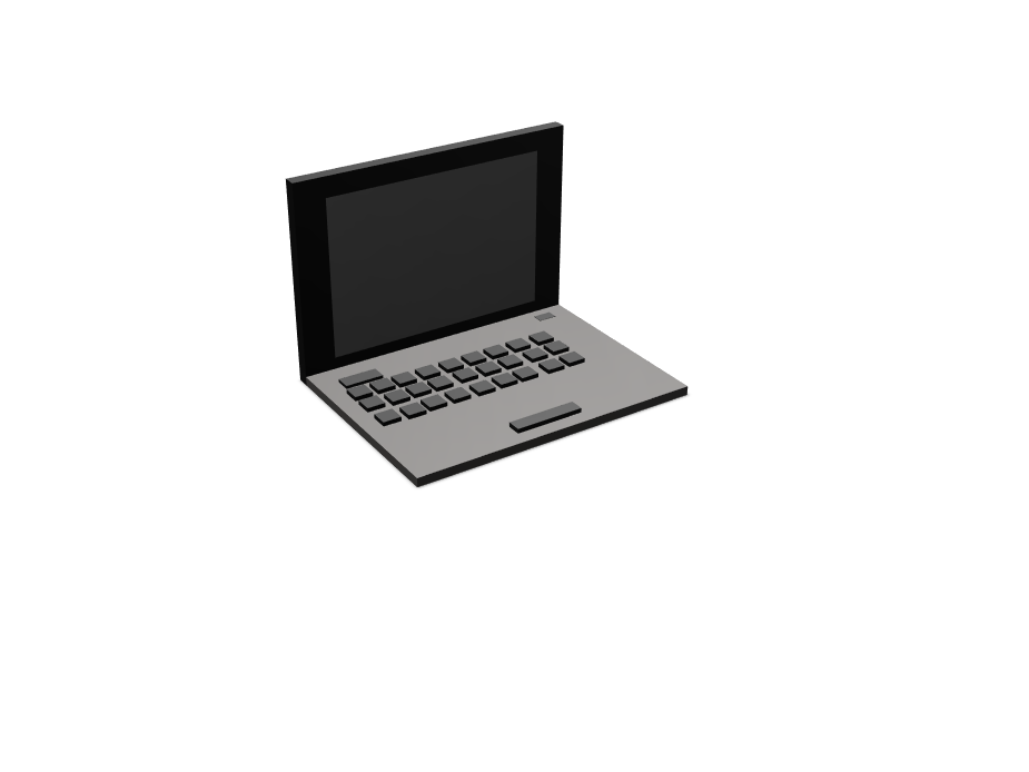 Laptop 2.0 - 3D design by Marcos Jover on Jan 31, 2018