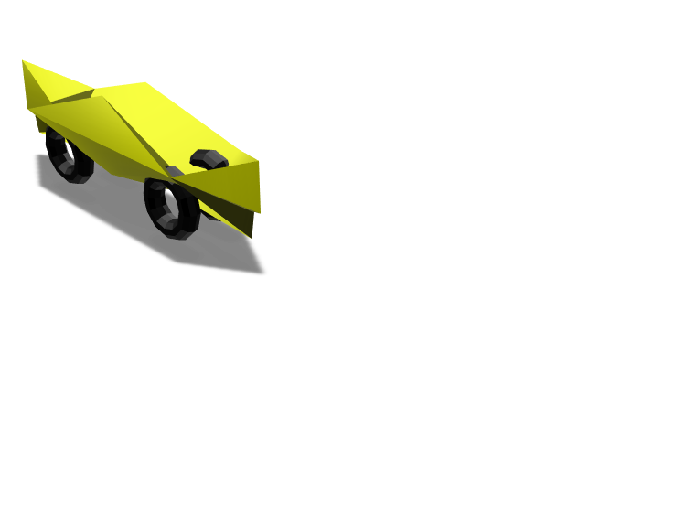 bannana boat car - 3D design by Giovann Sanchez Jan 27, 2018