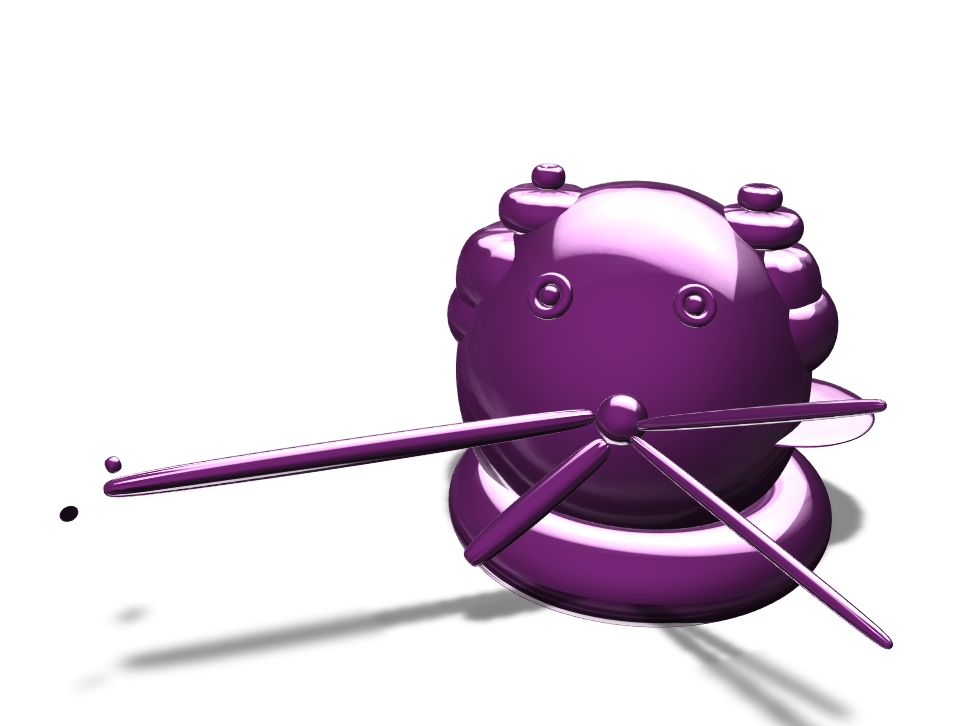 the worst cat balloon ever  - 3D design by Mickie Pearson Jan 23, 2018