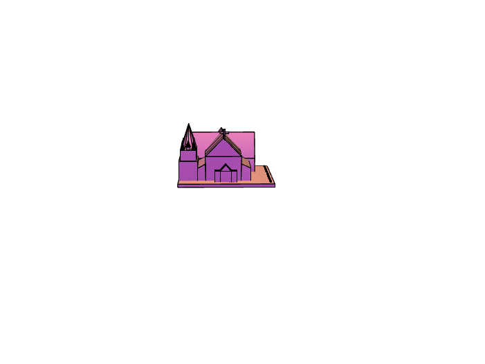 Christchurch cathedral - 3D design by caitling Feb 15, 2018