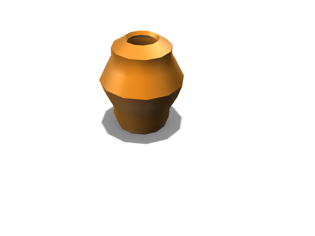 Vase - 3D design by bitterestcarrot on Dec 3, 2017