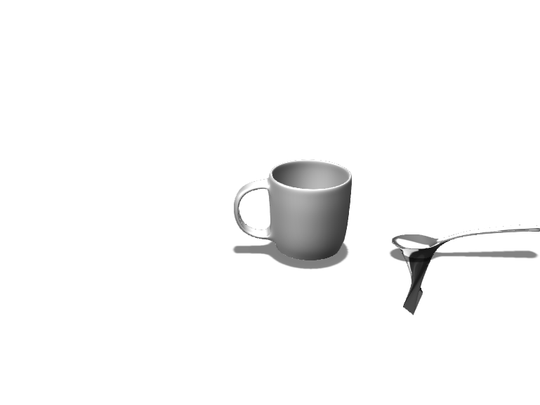 i broke the spoon - 3D design by ss73590 May 23, 2018