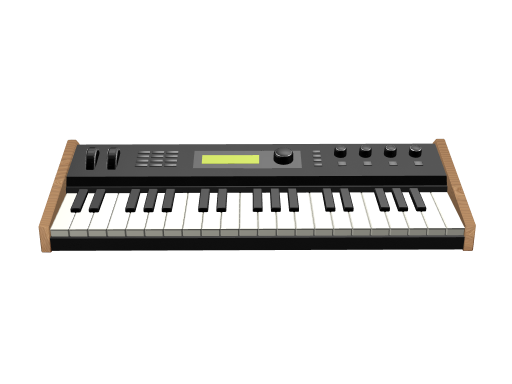 its a synth! - 3D design by umilan Jul 4, 2017