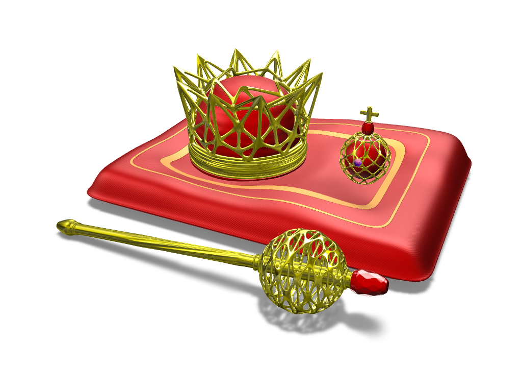 Crown jewels- starter pack - 3D design by Adrian Feb 15, 2017