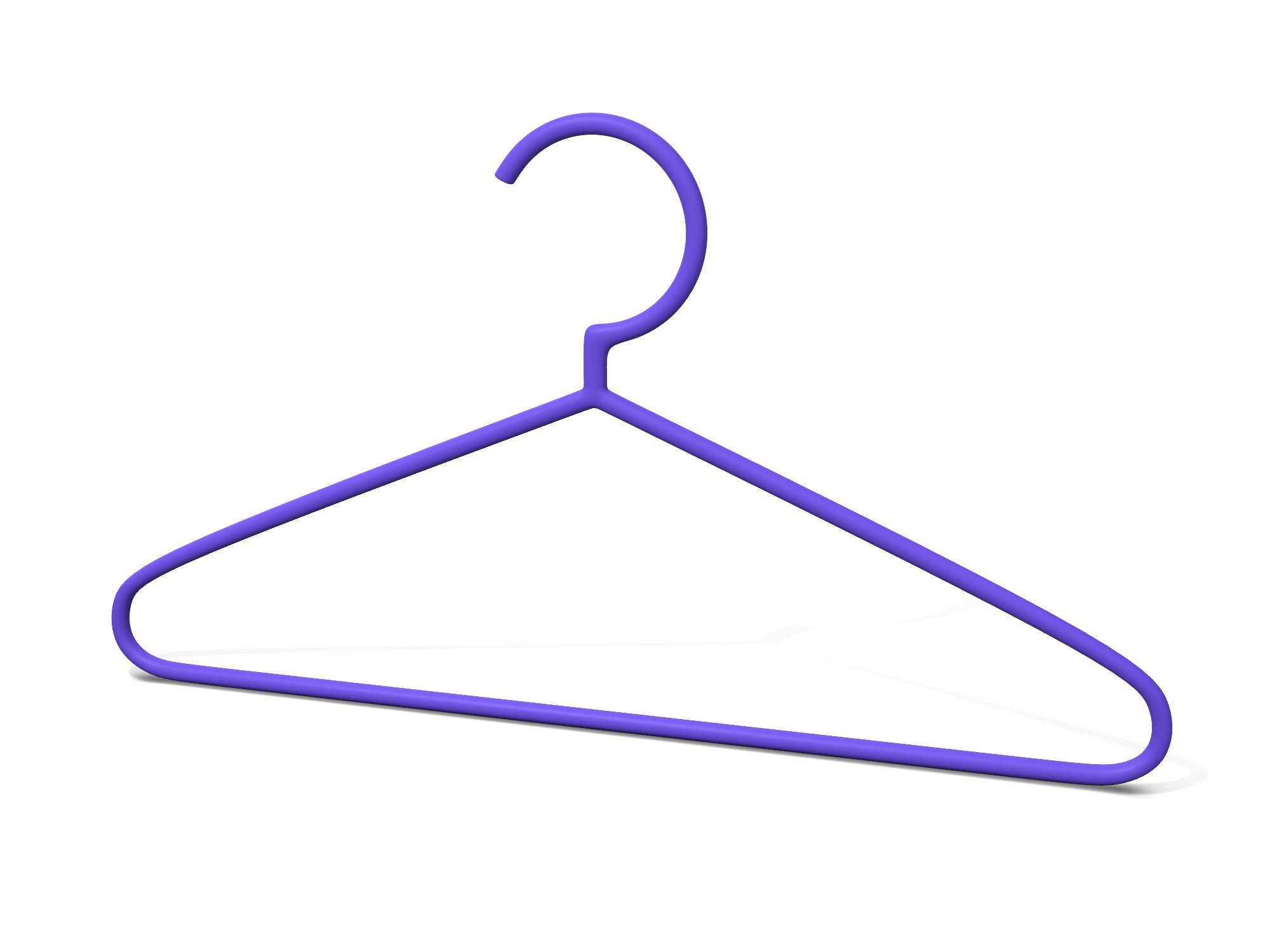Thin hanger - 3D design by Vectary assets Oct 10, 2018