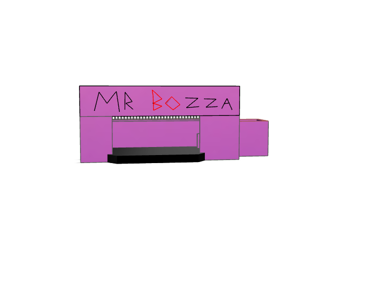 Stage Of Mr.Bozza - 3D design by bolickhunter83 Oct 25, 2017