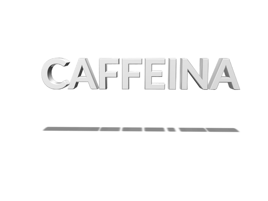 Caffeina - 3D design by luca.bontempi on Mar 2, 2018