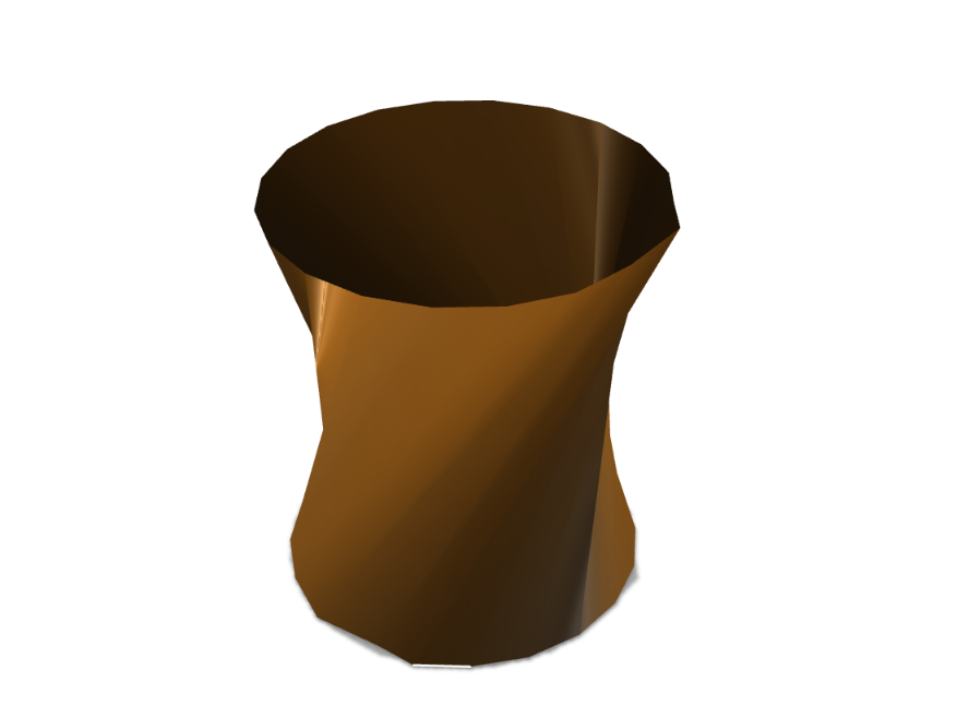 ROUND VASE - 3D design by coolestlegendTHEbeast on Aug 28, 2017