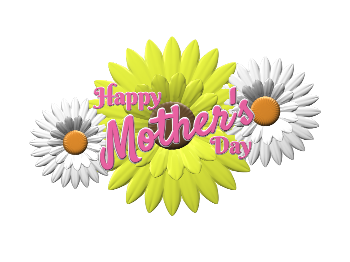 Happy Mother's Day - 3D design by lewmanuel Mar 4, 2018