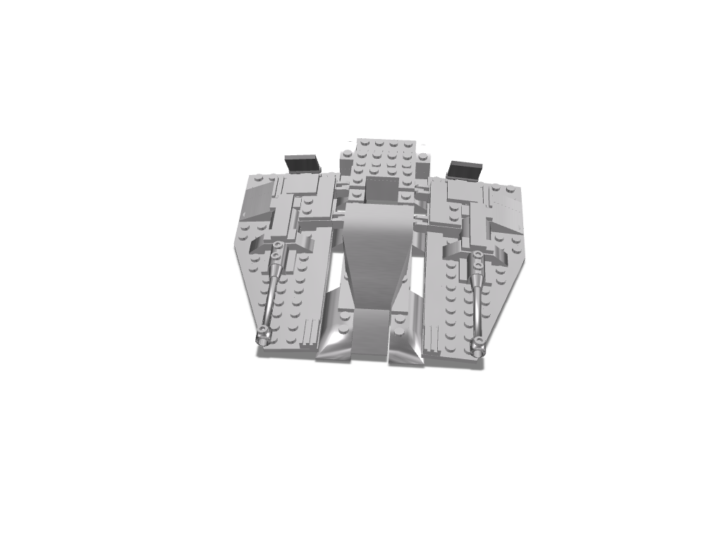 nave lego - 3D design by Cristian Alejandro Barreto on Mar 6, 2018