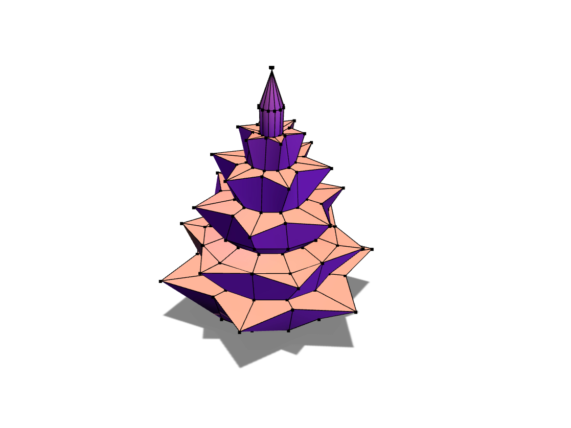 X-mas tree - 3D design by Jimmy Messer on Dec 4, 2017
