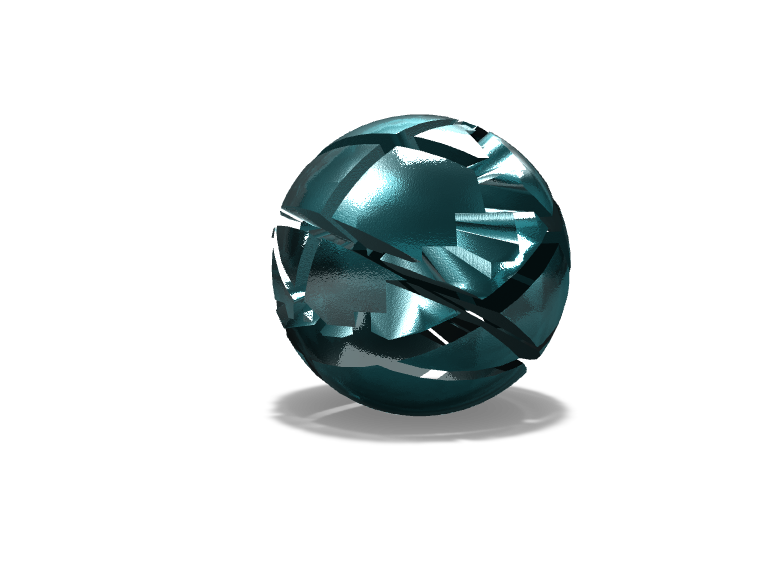 Ball In Time - 3D design by demonmarty1 May 18, 2018