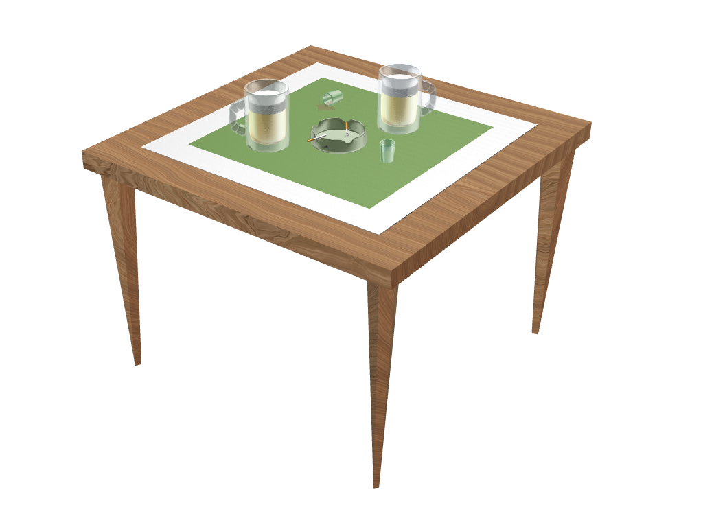 philosopher's table - 3D design by umilan Jul 3, 2017