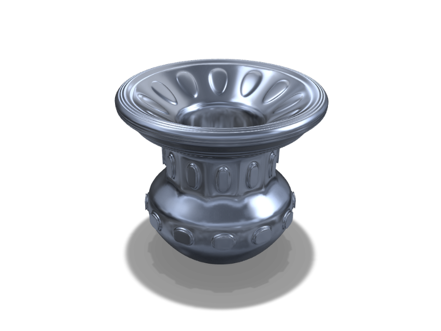 Vase 8 - 3D design by Csilla Kovácsné Gyarmathy on Sep 16, 2017
