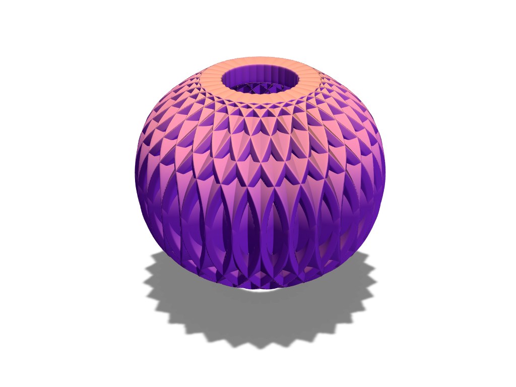 Array bauble 4 - 3D design by fewowuzeco on Dec 20, 2017
