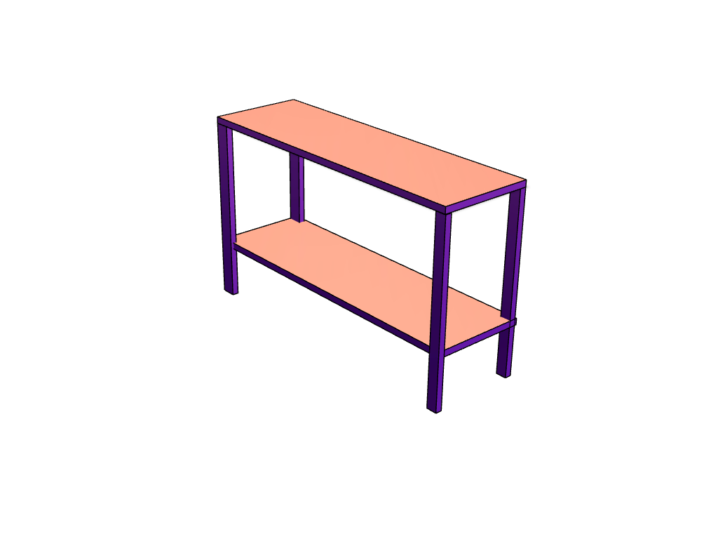 WORK BENCH - 3D design by Jake Lewis Oct 30, 2017