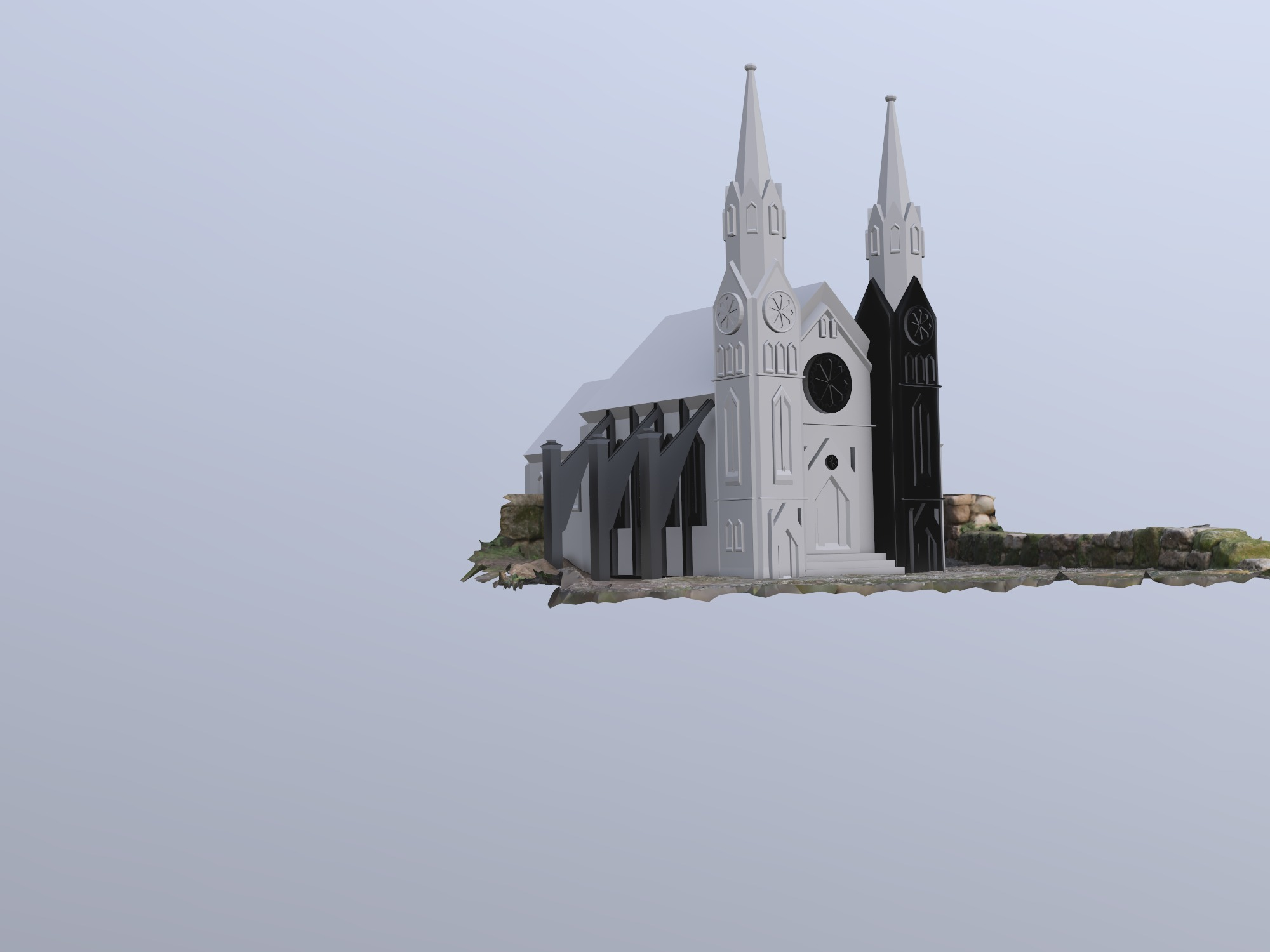 cathedral - 3D design by sandral15 on Dec 13, 2018