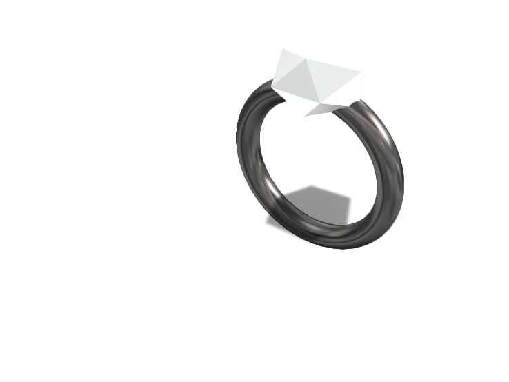 Glass Ring  - 3D design by Gabriel Lopez Dec 2, 2017